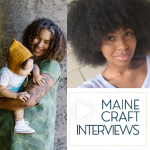 Maine Craft Interview: Aminata Conteh Interviews Rachel Gloria Adams