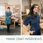 Maine Craft Interview: Naomi David Russo Interviews Heide Martin