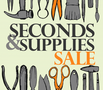 Register Now: 2019 Seconds & Supplies SALE