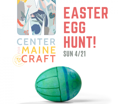 Easter Egg Hunt at the Center for Maine Craft
