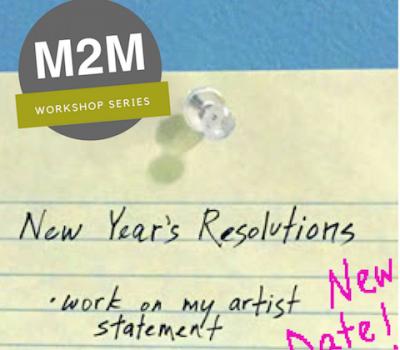 March 4, 2018 Midcoast Artist Statement Workshop