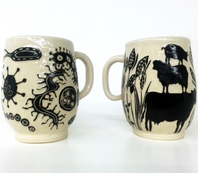 March 1-April 28: The Clever Cup at Center for Maine Craft