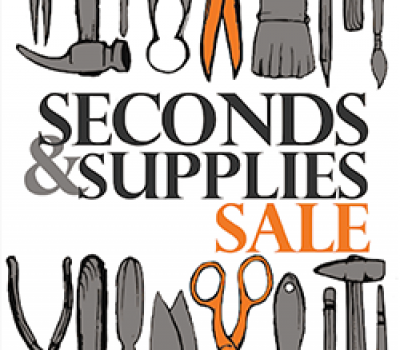 Artist Seconds & Supplies SALE June 3rd