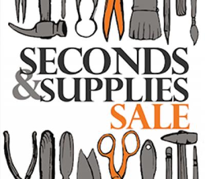 Artist Seconds & Supplies SALE June 3rd