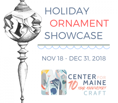 November 19-December 31: Annual Holiday Ornament Showcase