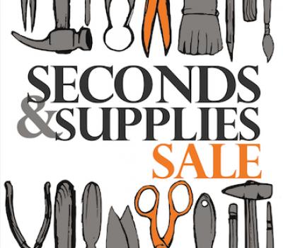 Register: Seconds & Supplies Sale
