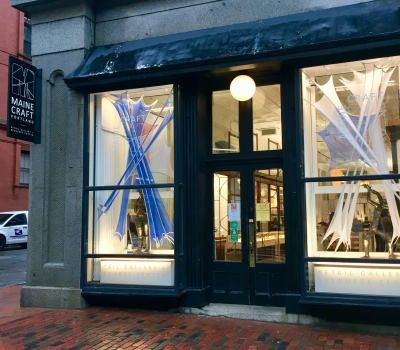 First Light: Solstice | Window Installation at Maine Craft Portland